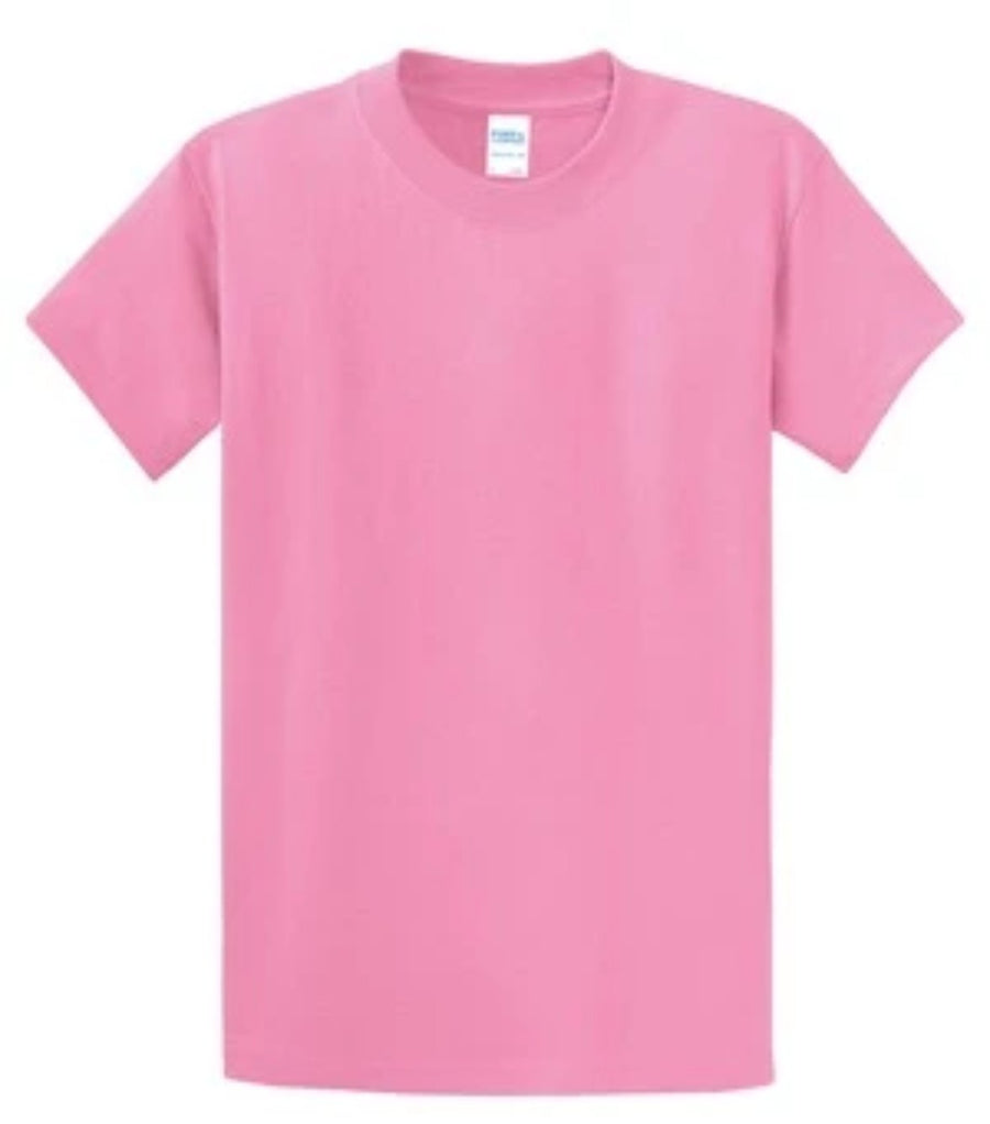 Port & Company 100% Cotton Essential T-Shirt Candy Pink Tall PC61T