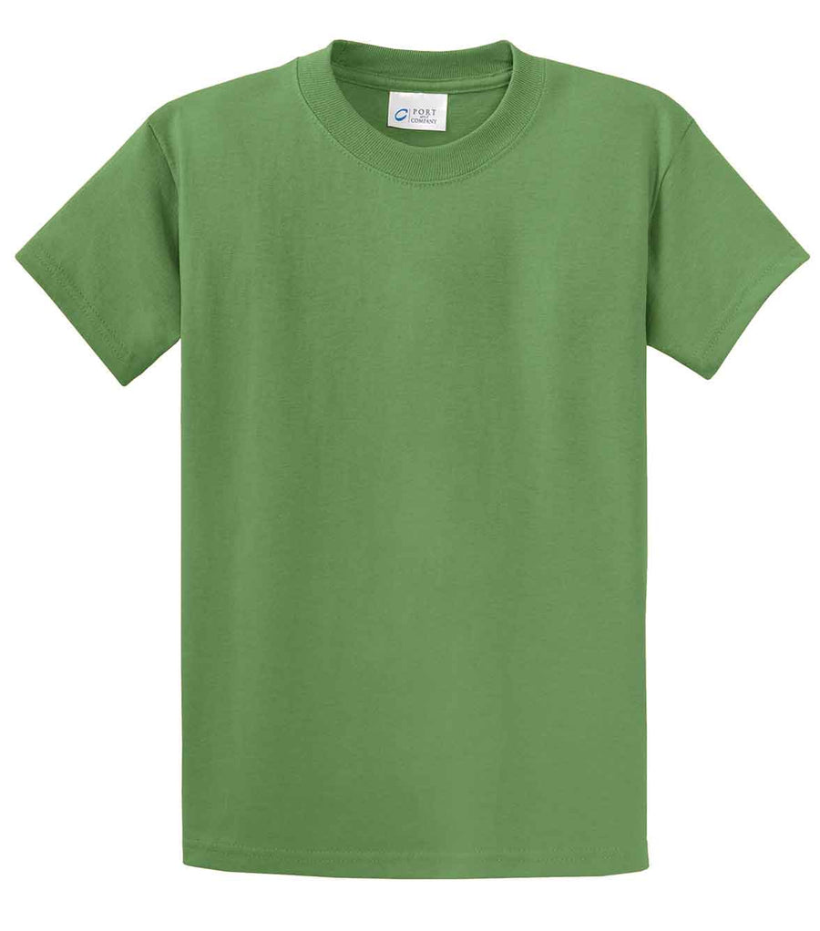Port & Company 100% Cotton Essential T-Shirt Dill Green Tall PC61T