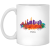 Dallas Cityscape 11oz Mug
