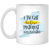 I Taught Before Pinterest Was Invented Mug 11oz