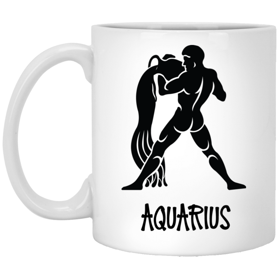 Aquarius Astrological Sign Mug 11 oz