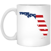Florida State USA Flag Mug 11oz