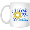 I Love You A Latke 11oz Mug