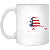 Alaska State USA Flag Mug 11oz