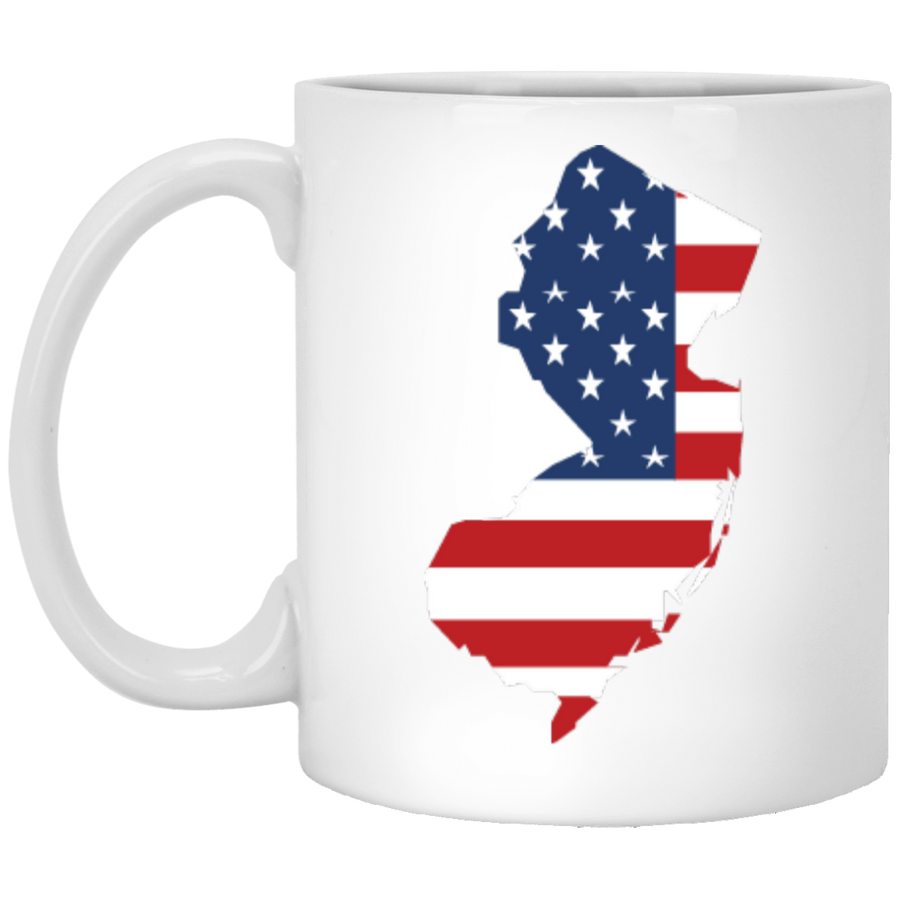 New Jersey State USA Flag Mug 11oz