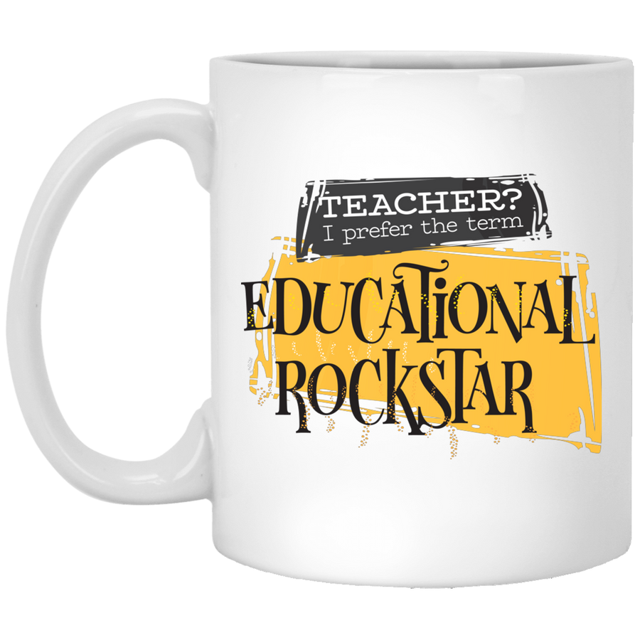 Teacher Educational Rockstar Mug 11oz