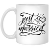 Just Married Mug 11oz