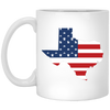 Texas State USA Flag Mug 11oz