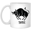 Taurus Astrological Sign Mug 11 oz