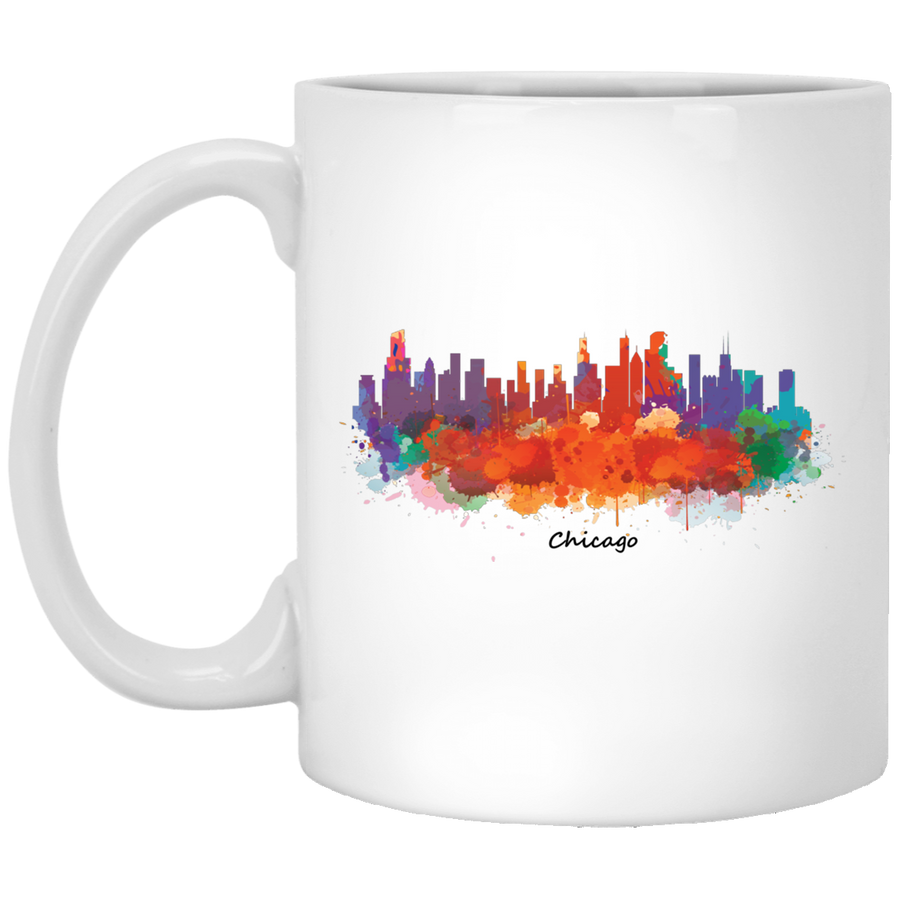 Chicago Cityscape 11oz Mug