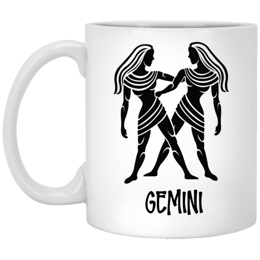Gemini Astrological Sign Mug 11 oz