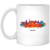 Boston Cityscape 11oz Mug