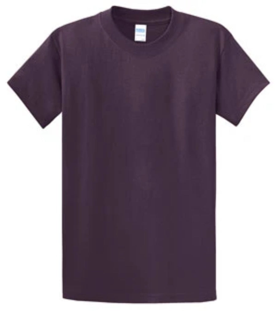 Port & Company 100% Cotton Essential T-Shirt Eggplant PC61