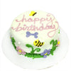 Garden Party Special Occasion Dog Treat Cake