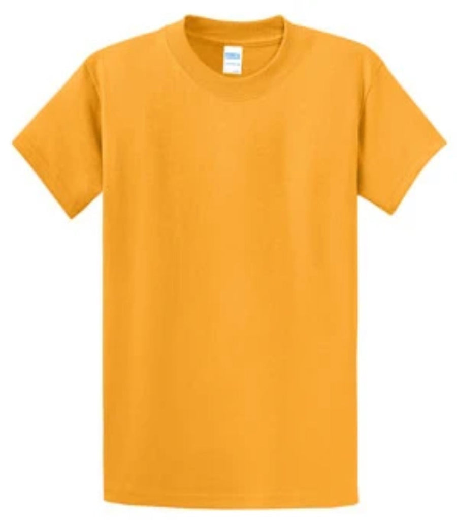 Port & Company 100% Cotton Essential T-Shirt Gold PC61