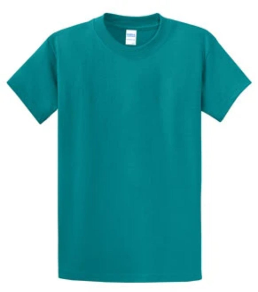 Port & Company 100% Cotton Essential T-Shirt Jade Green PC61