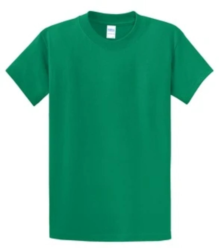 Port & Company 100% Cotton Essential T-Shirt Kelly Green Tall PC61T