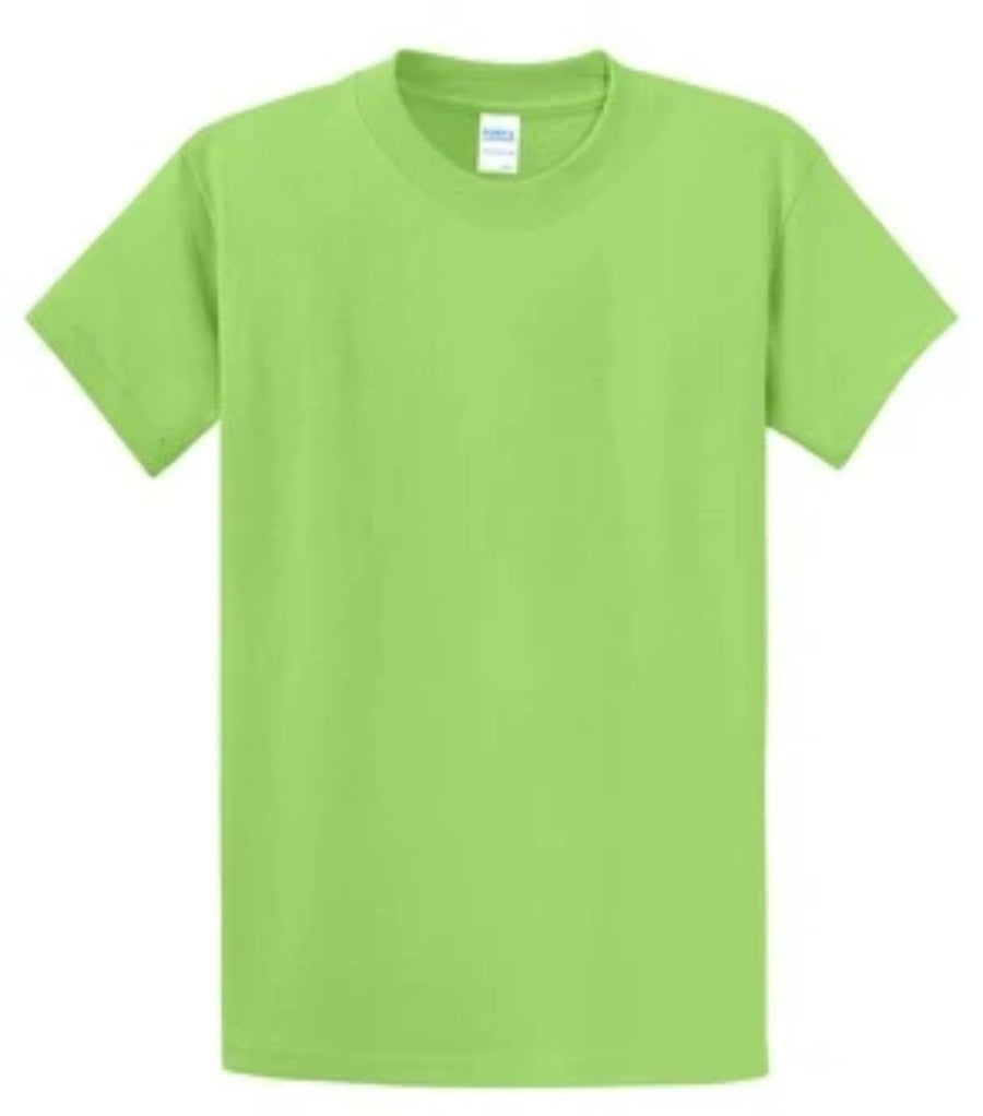Port & Company 100% Cotton Essential T-Shirt Lime Tall PC61T