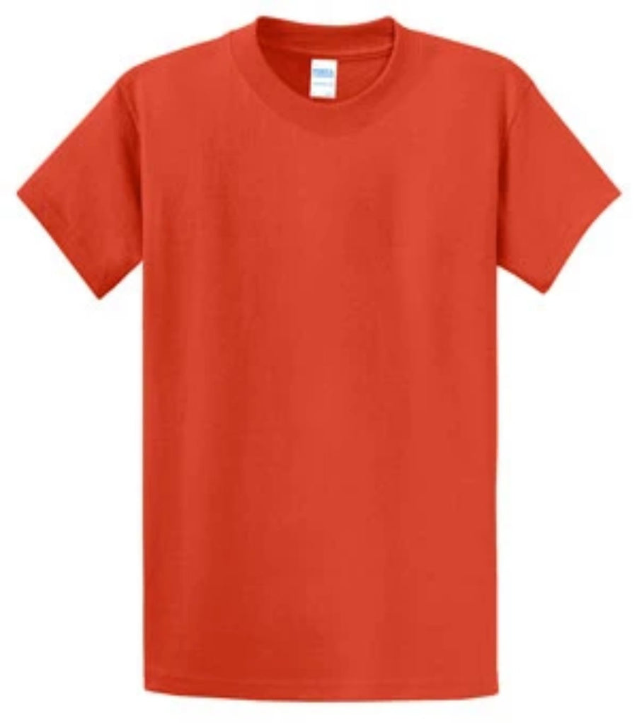 Port & Company 100% Cotton Essential T-Shirt Orange PC61