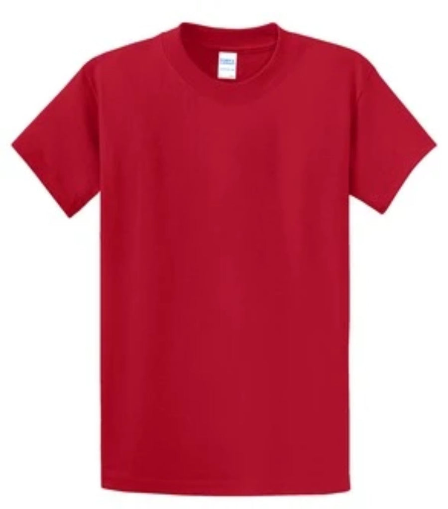 Port & Company 100% Cotton Essential T-Shirt Red Tall PC61T