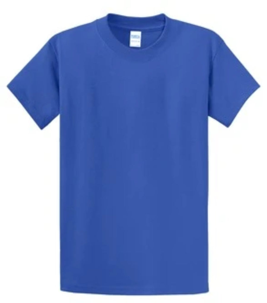 Port & Company 100% Cotton Essential T-Shirt Royal Tall PC61T