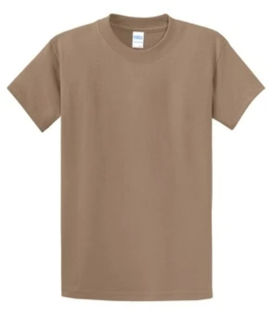 Port & Company 100% Cotton Essential T-Shirt Sand Tall PC61T
