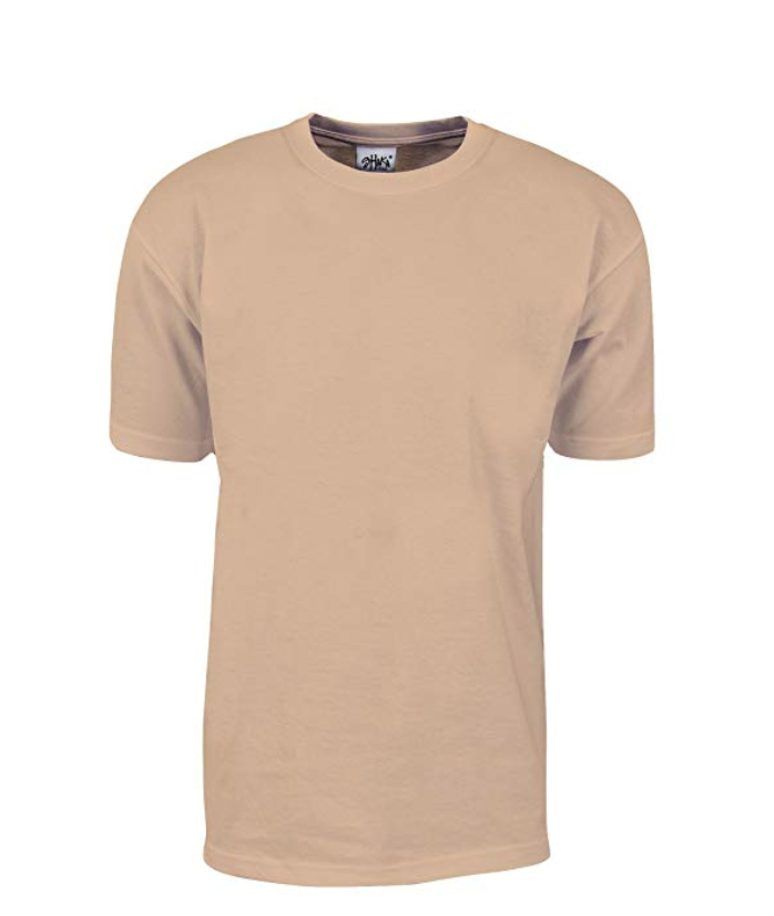 Shaka Wear Max Heavyweight 7.5 oz 100% Cotton T-Shirt Sand
