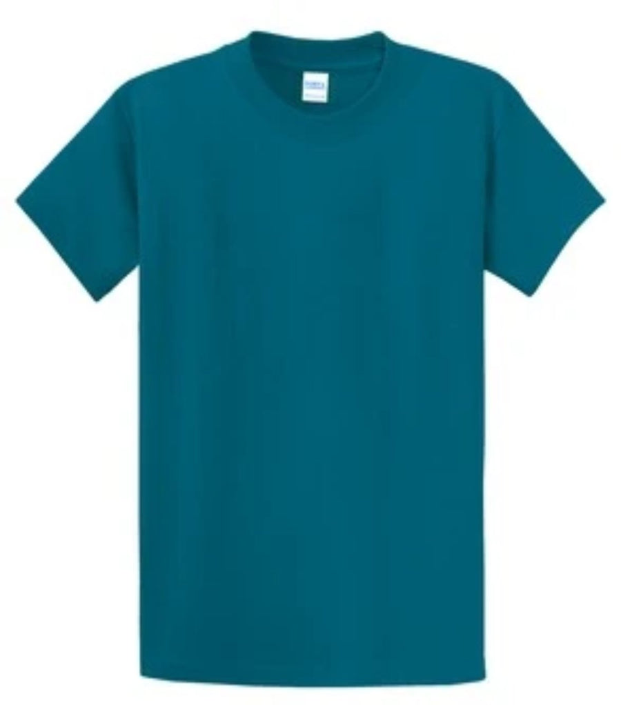 Port & Company 100% Cotton Essential T-Shirt Teal PC61
