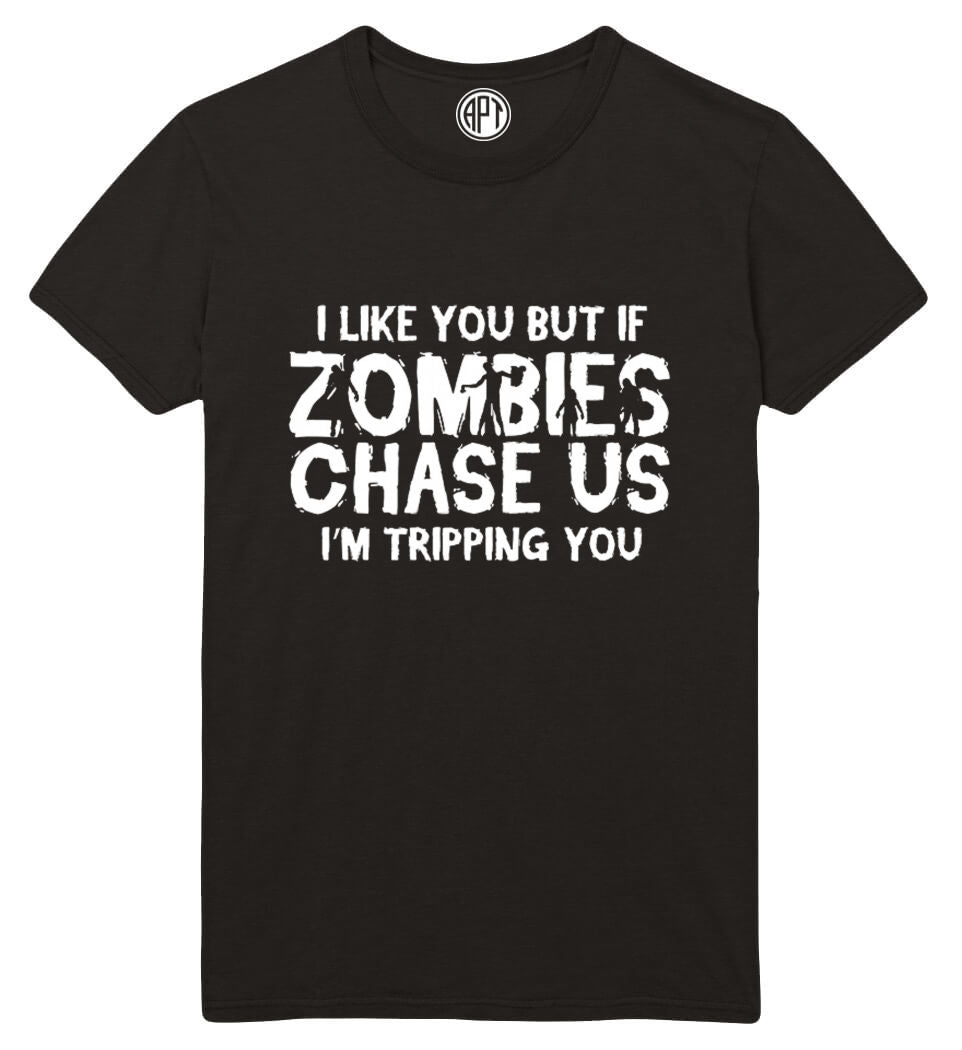 Zombies Chase Us Printed T-Shirt Tall