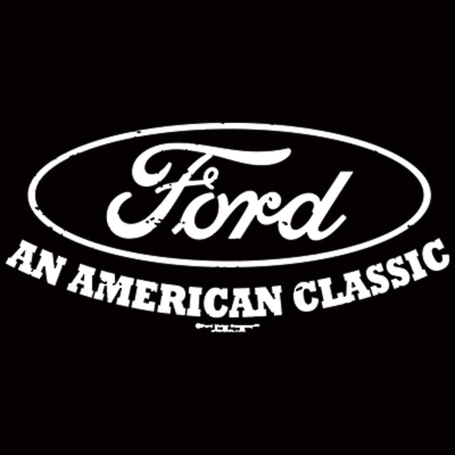 Ford An American Classic Printed T-Shirt-Black