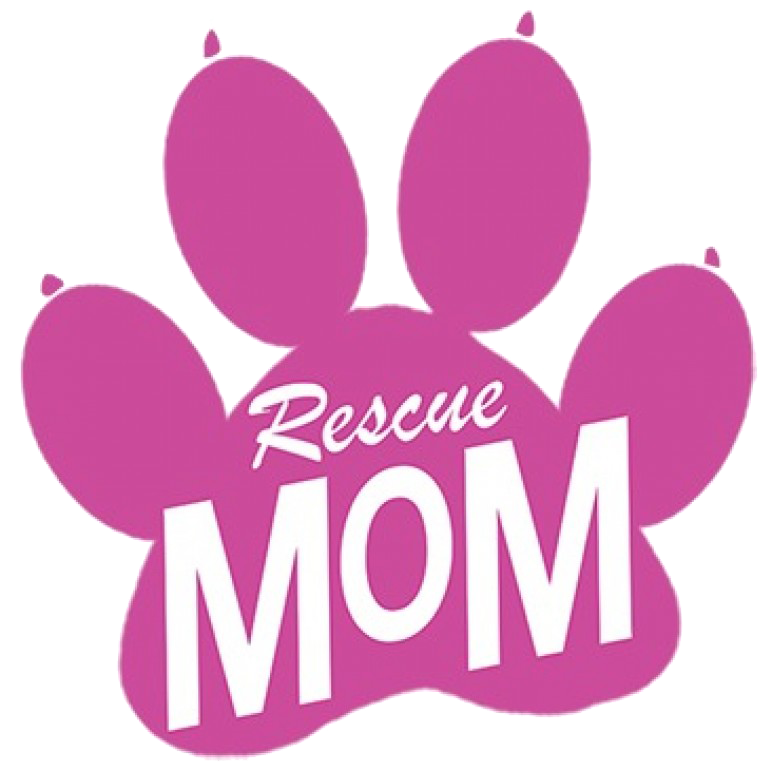 Rescue Mom Neon Printed T-Shirt Tall