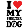 Love My Shelter Dog T-Shirt