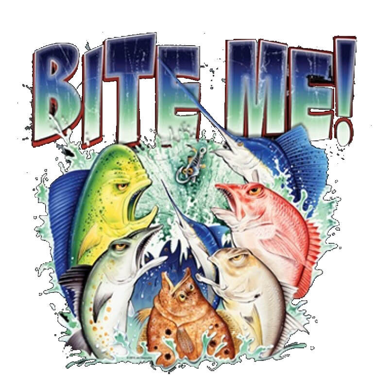 Bite Me Printed T-Shirt