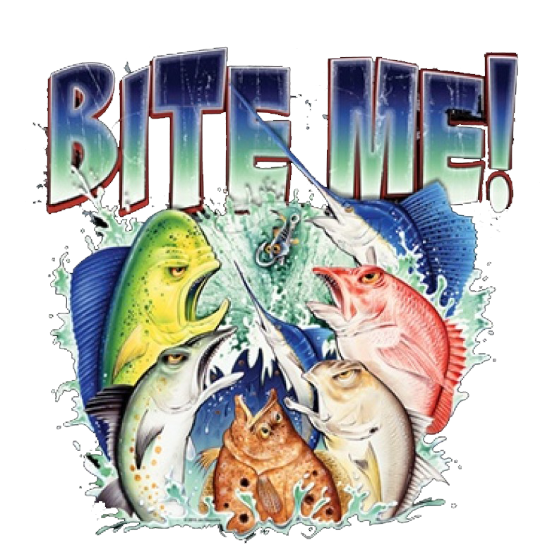 Bite Me Printed T-Shirt Tall