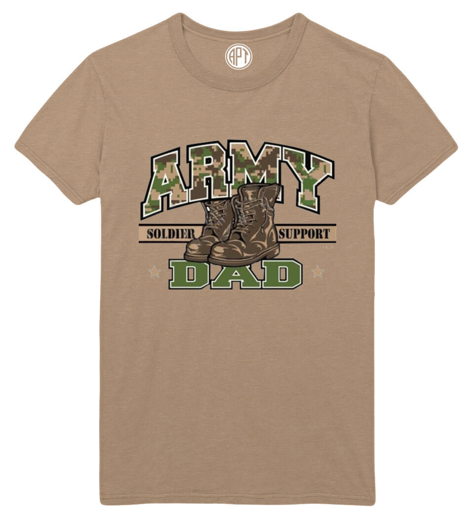 Army Dad Printed T-Shirt
