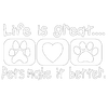 Life Is Great With Pets T-Shirt
