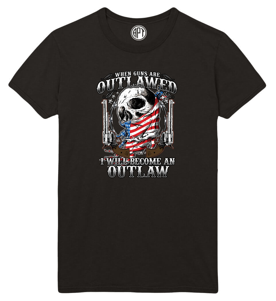 Become an Outlaw Printed T-Shirt