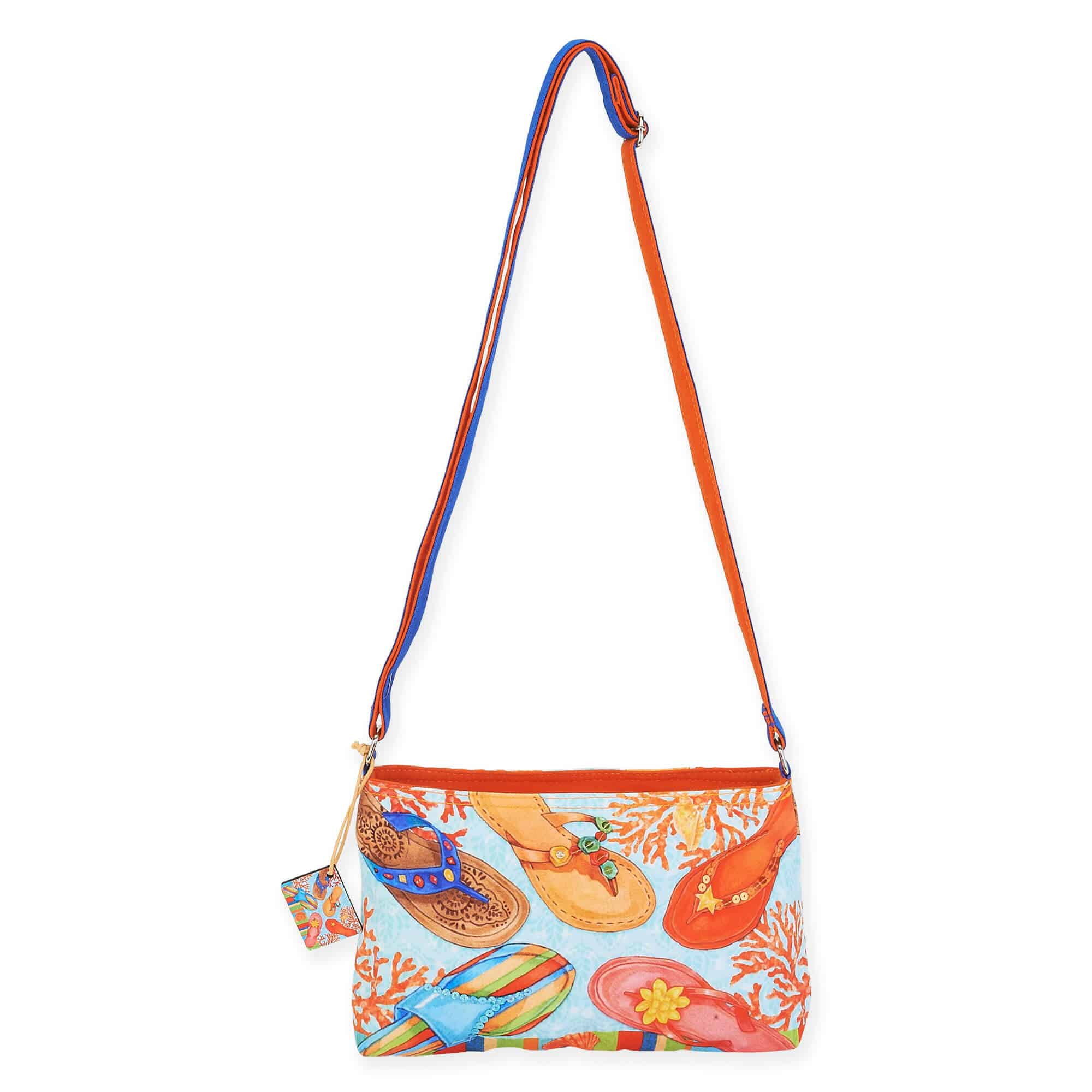 Beach Breeze Medley E/W Crossbody by Sun N Sand