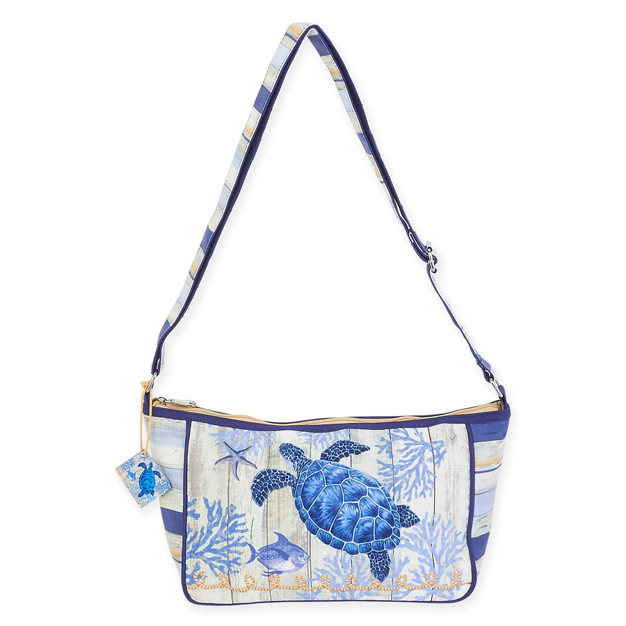 Indigo Cove E/W Crossbody by Sun N Sand