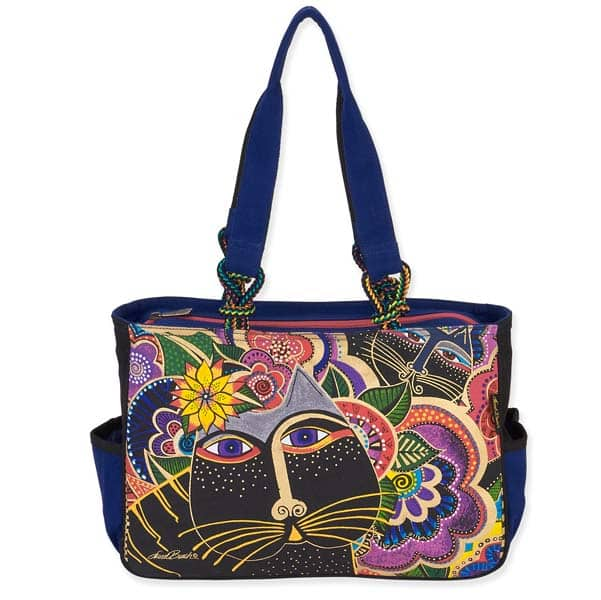 Carlotta's Cats Medium Tote by Laurel Burch