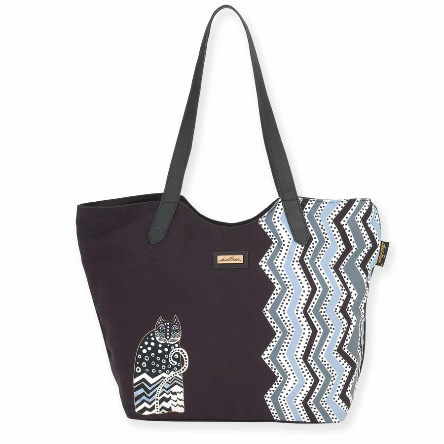 Polka Dot Scoop Tote by Laurel Burch
