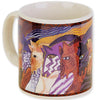 Moroccan Mares Mug by Laurel Burch