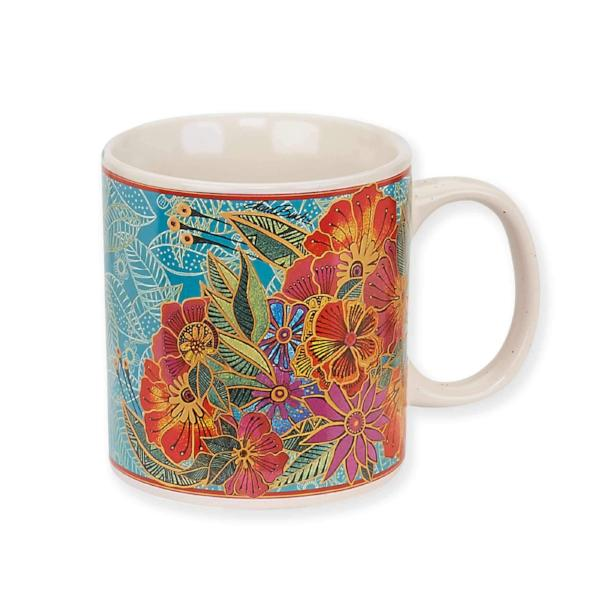 Flora Mug by Laurel Burch