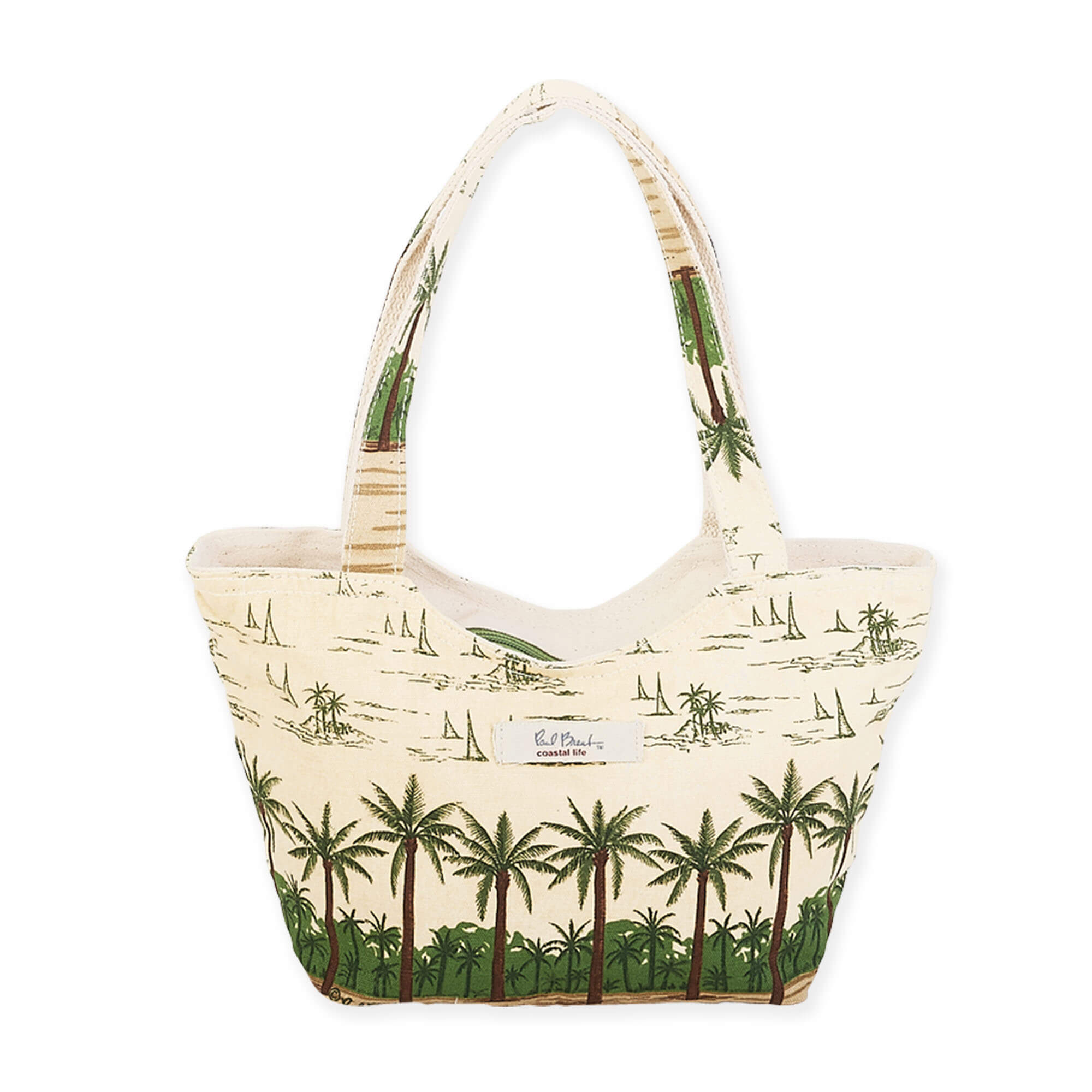 Palm Island Mini Scoop Tote by Paul Brent