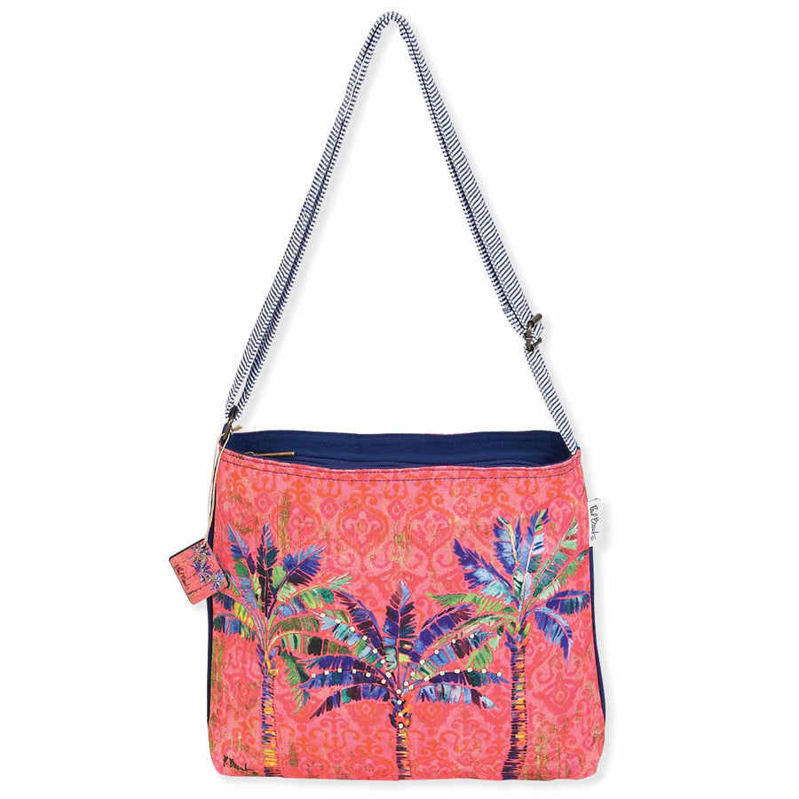 Paradise Palms Large Crossbody by Paul Brent