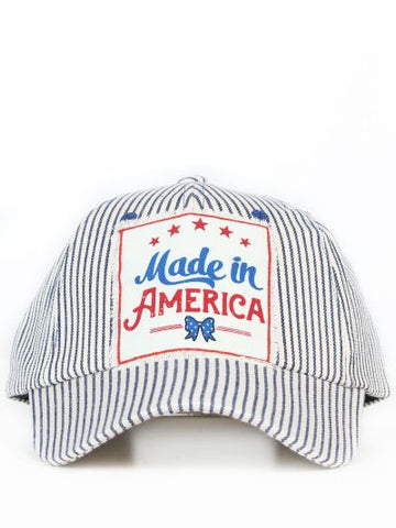 Made in America Striped Hat