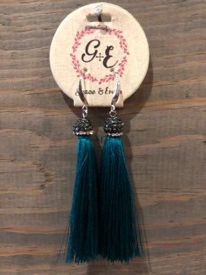 Earrings - Tassel Grace & Emma