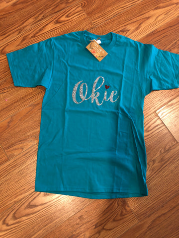 Okie Crew Neck T-shirt