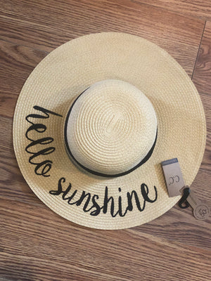 C.C Hello Sunshine Floppy Hat
