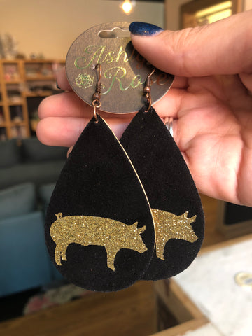 Farm Animal Earrings